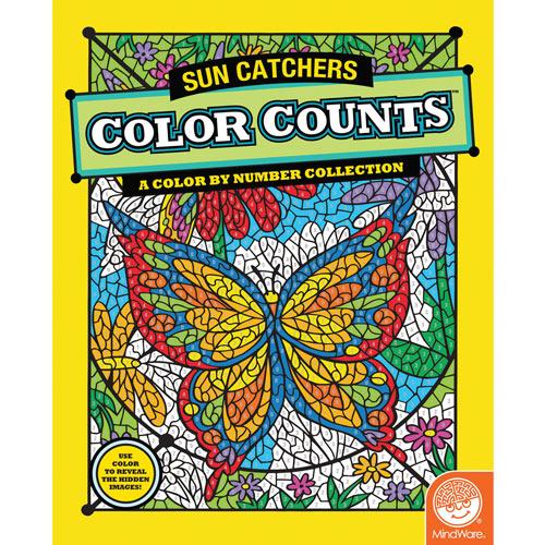 Sun Catchers - Color Counts Book