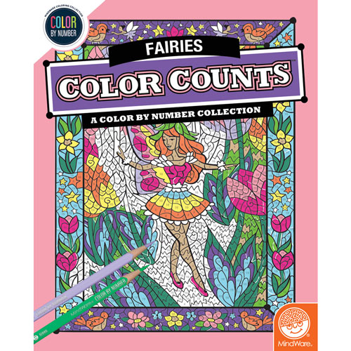 Color Counts Book - Fairies