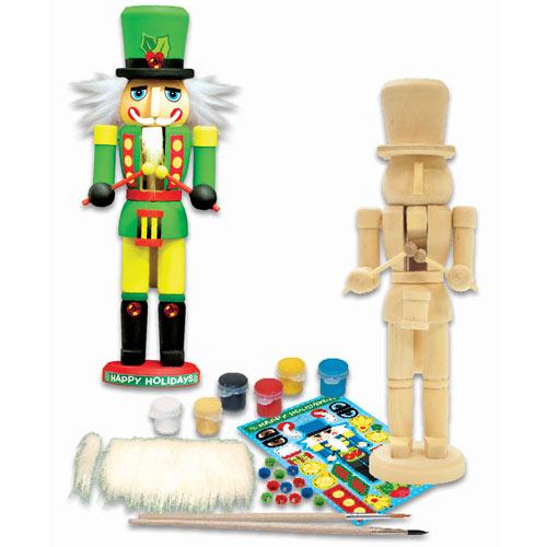 Wooden Nutcracker Painting Kit