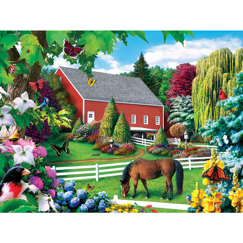 Leaves of Green II 300 Large Piece Jigsaw Puzzle