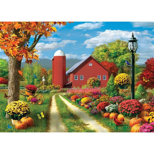 Countryside Afternoon 1000 Piece Jigsaw Puzzle