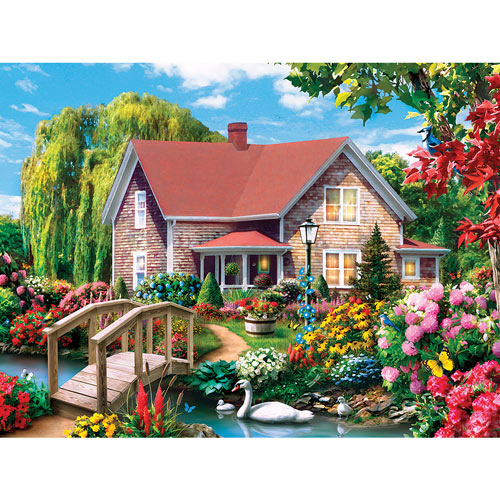 Country Hideaway 1000 Piece Jigsaw Puzzle
