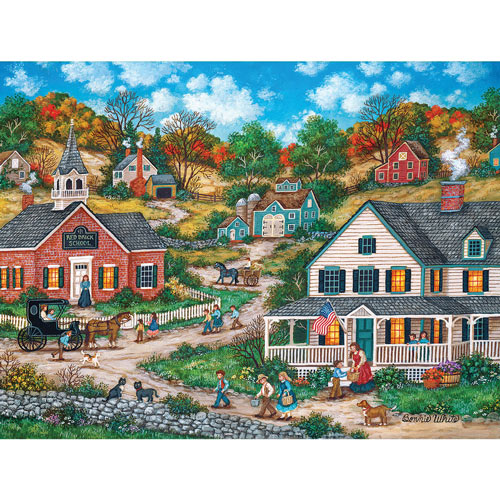 School Days 300 Large Piece Jigsaw Puzzle