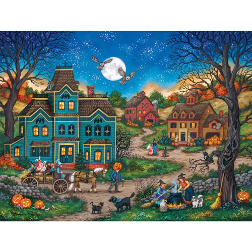 Witches Brew 300 Large Piece Jigsaw Puzzle