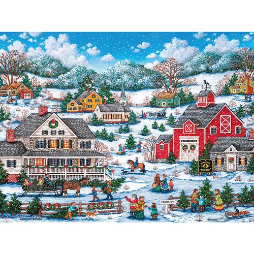 Kringle's Tree Farm 550 Piece Jigsaw Puzzle