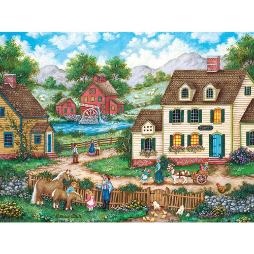 Meeting the New Foal 1000 Piece Jigsaw Puzzle
