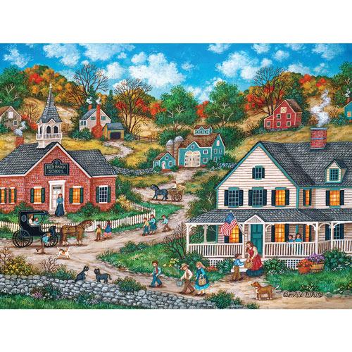 School Days 1000 Piece Jigsaw Puzzle