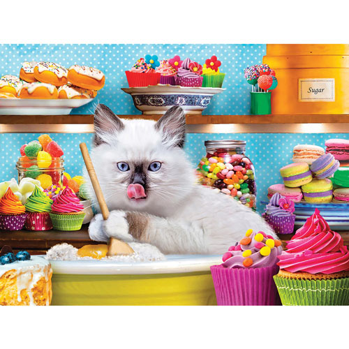 Purr-fectly Sweet 300 Large Piece Jigsaw Puzzle