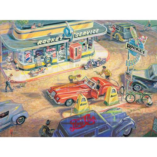 Rocket Fuel 550 Piece Jigsaw Puzzle