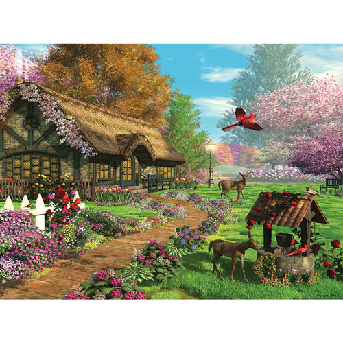 Peaceful Retreat 1000 Piece Jigsaw Puzzle