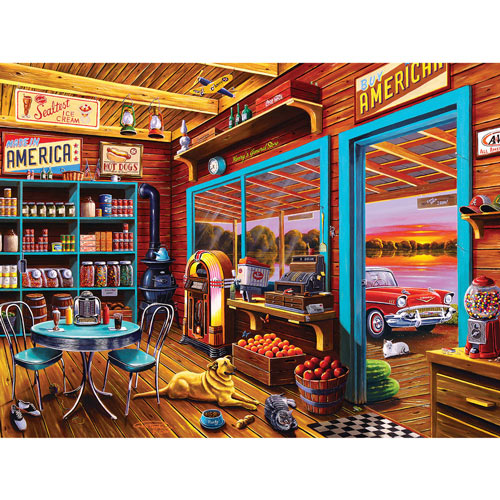 Henry's General Store 750 Piece Jigsaw Puzzle