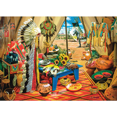 Trading Post 1000 Piece Jigsaw Puzzle