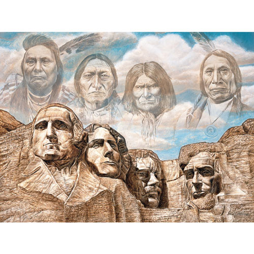 Founding Fathers 550 Piece Jigsaw Puzzle
