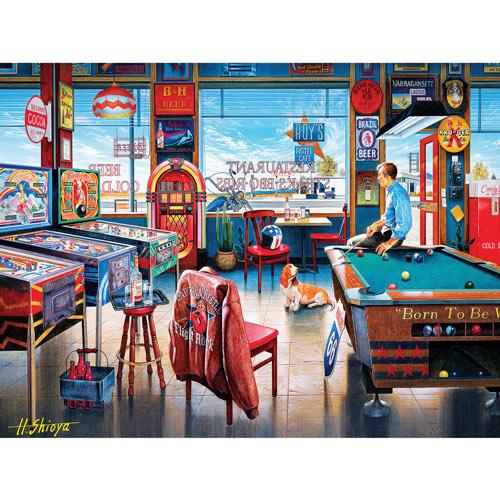 Pockets Pool & Pub 550 Piece Jigsaw Puzzle