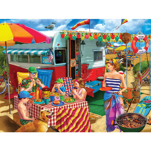 Trip To The Coast 300 large Piece Jigsaw Puzzle