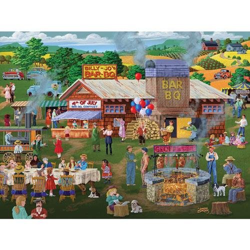 Billy-Jo's BBQ 300 Large Piece Jigsaw Puzzle