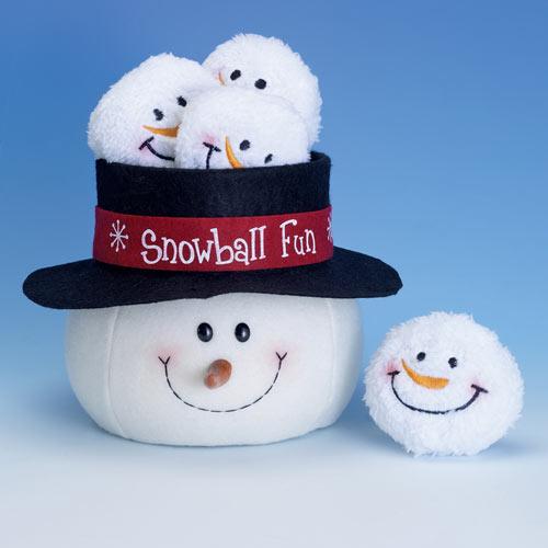 Indoor Snowball Fun Game