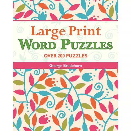 Large Print Word Puzzles