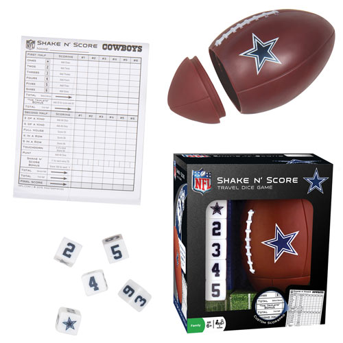 NFL Shake n' Score Game - Dallas Cowboys