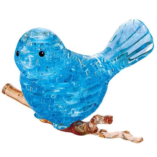3D Crystal Bluebird