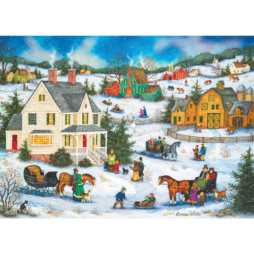 Holiday Dinner Guests 1000 Piece Jigsaw Puzzle