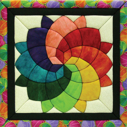 Blossom Quilt Magic Kit with Frame