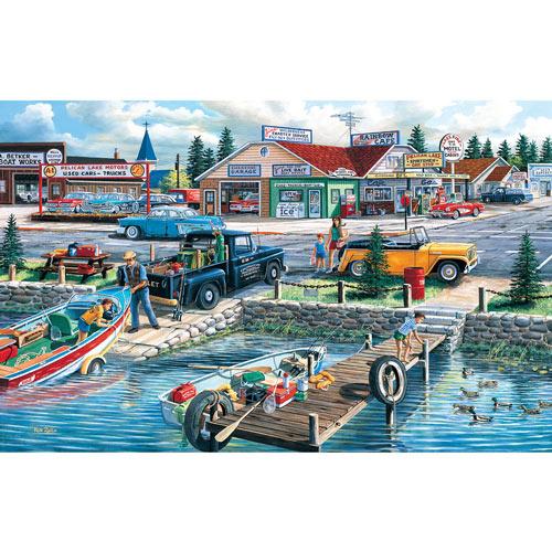 Lakefront Treasury 300 Large Piece Jigsaw Puzzle
