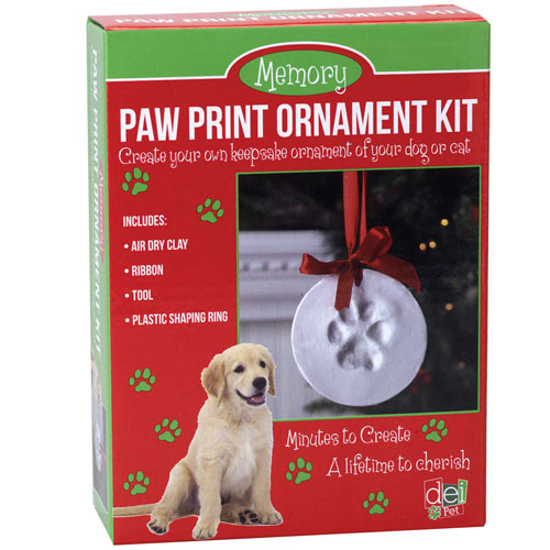 Paw Print Ornament Kit