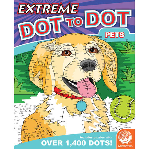 Pets - Extreme Dot to Dot Books