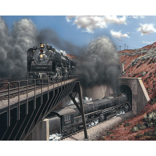 Crossing Legends 1000 Piece Jigsaw Puzzle