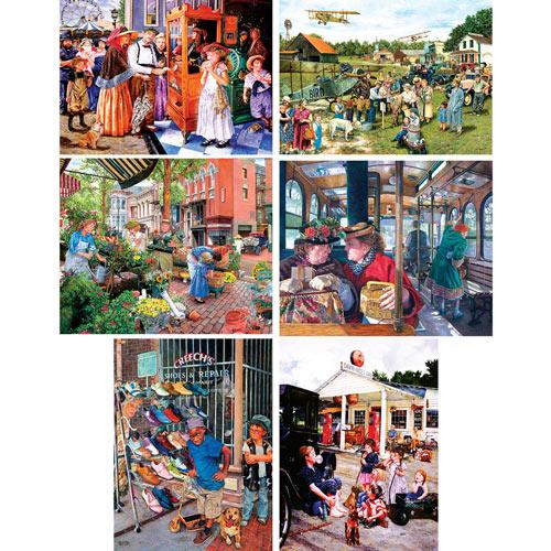 Set of 6: Susan Brabeau 1000 Piece Jigsaw Puzzles