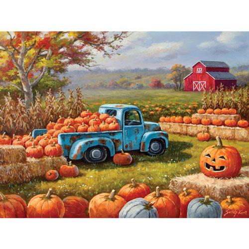 Pumpkin Farm Festival 1000 Piece Jigsaw Puzzle