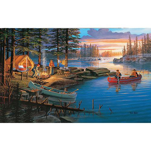 Campfire Memories 300 Large Piece Jigsaw Puzzle