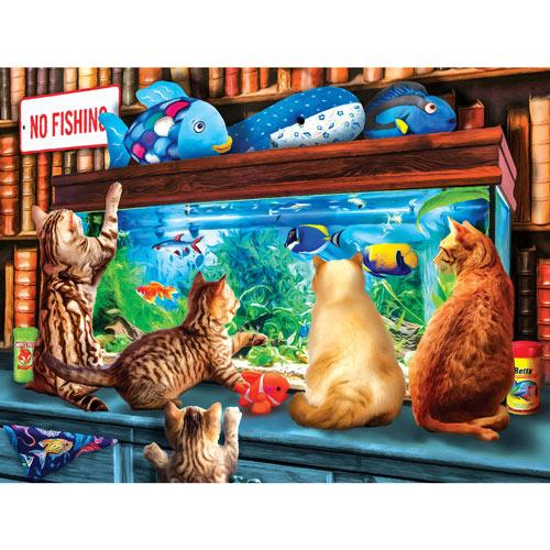Window Shopping 300 Large Piece Jigsaw Puzzle