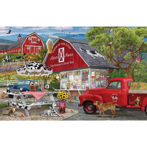 Dairy Bar 300 Large Piece Jigsaw Puzzle