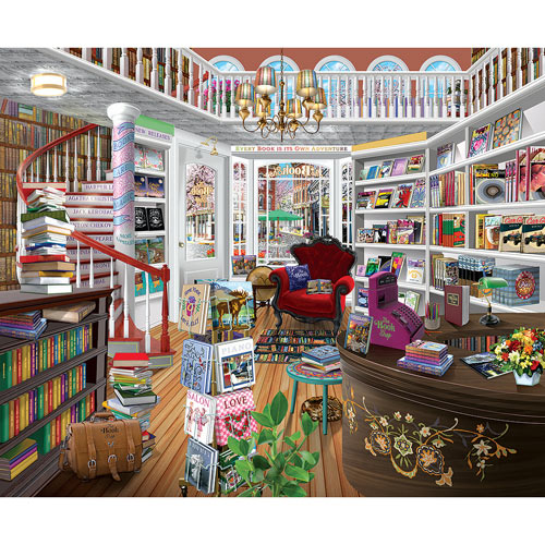 The Bookshop 1000 Piece Jigsaw Puzzle