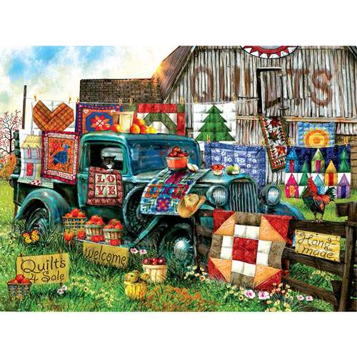 Quilts for Sale 1000 Piece Jigsaw Puzzle