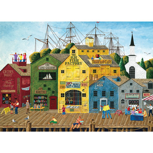 Crows Nest Harbor 1000 Piece Jigsaw Puzzle