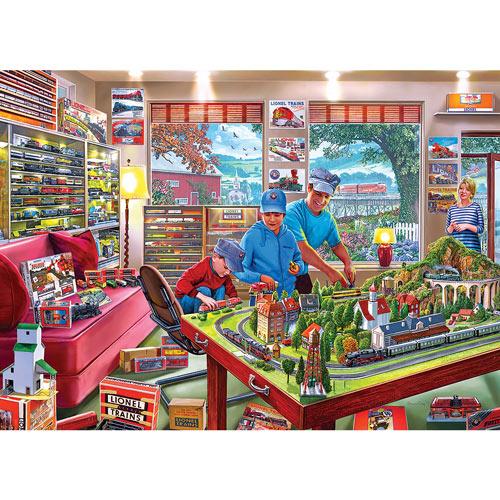 The Boys' Playroom 1000 Piece Jigsaw Puzzle
