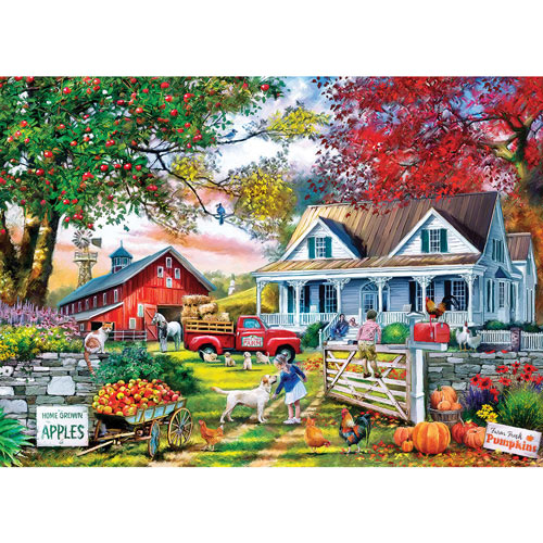 Apple Tree Farm 1000 Piece Jigsaw Puzzle