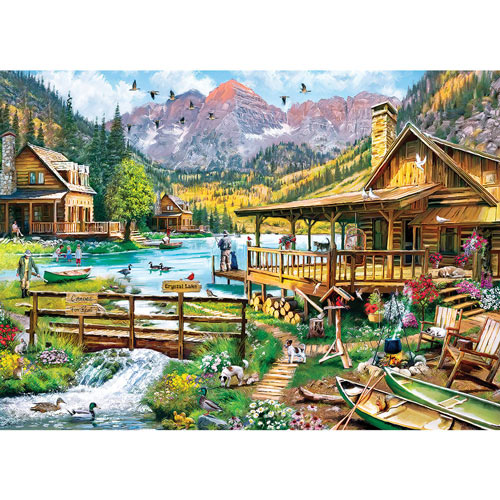 Canoes For Rent 1000 Piece Jigsaw Puzzle