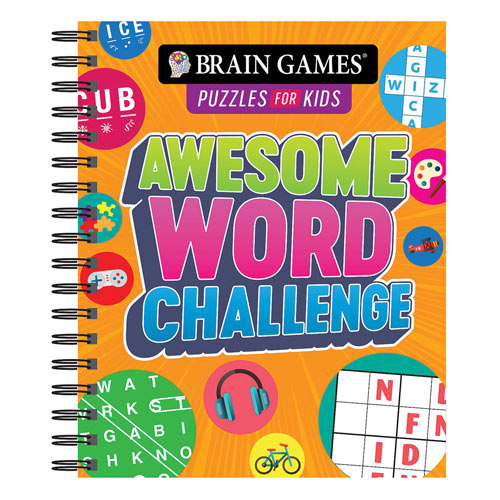 Awesome Word Challenge Puzzle Book