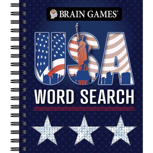U.S.A. Word Search Book