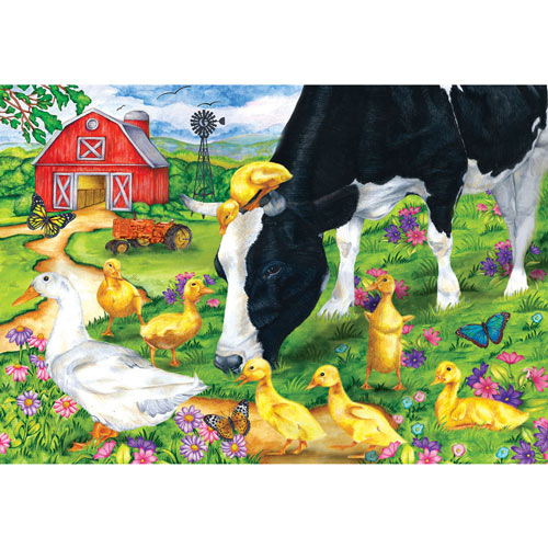 The Encounter 100 Large Piece Jigsaw Puzzle