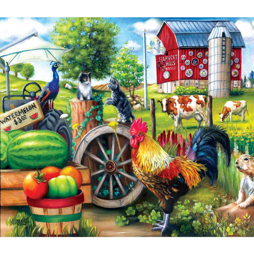 Harvest Hills 200 Large Piece Jigsaw Puzzle