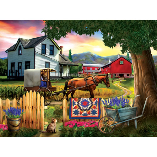 Heading Home For Dinner 300 Large Piece Jigsaw Puzzle