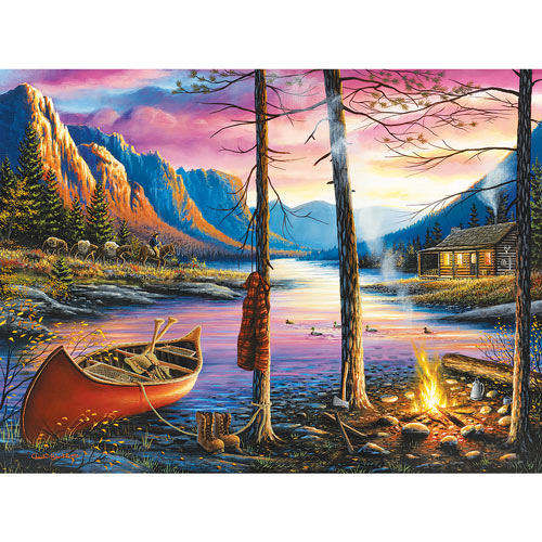 Cabin Homecoming 300 Large Piece Jigsaw Puzzle