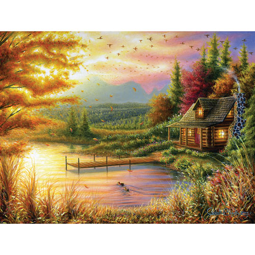 High Country Cinnamon 500 Piece Jigsaw Puzzle
