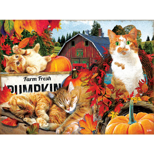 Farm Fresh Pumpkins 300 Large Piece Jigsaw Puzzle