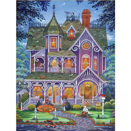 New And Used Books 300 Large Piece Jigsaw Puzzle